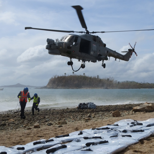 Supplies-being-delivered-following-the-aftermath-of-Typhoon-Haiyan,-Philippines-in-2013