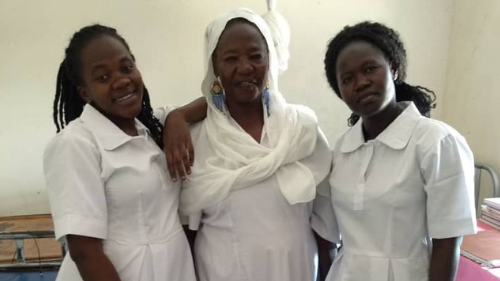 Midwives from South Sudan