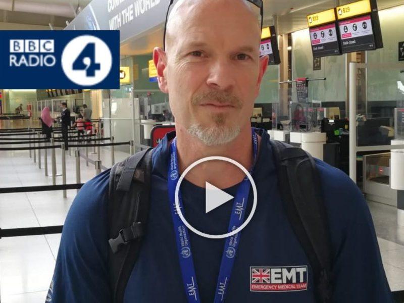 David Wightwick on Radio 4's Today Programme