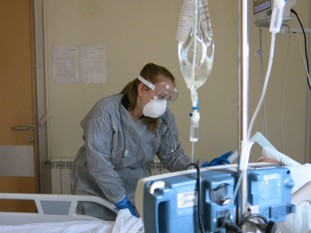 UK-Med nurse Katy Drillsma-Millgrom