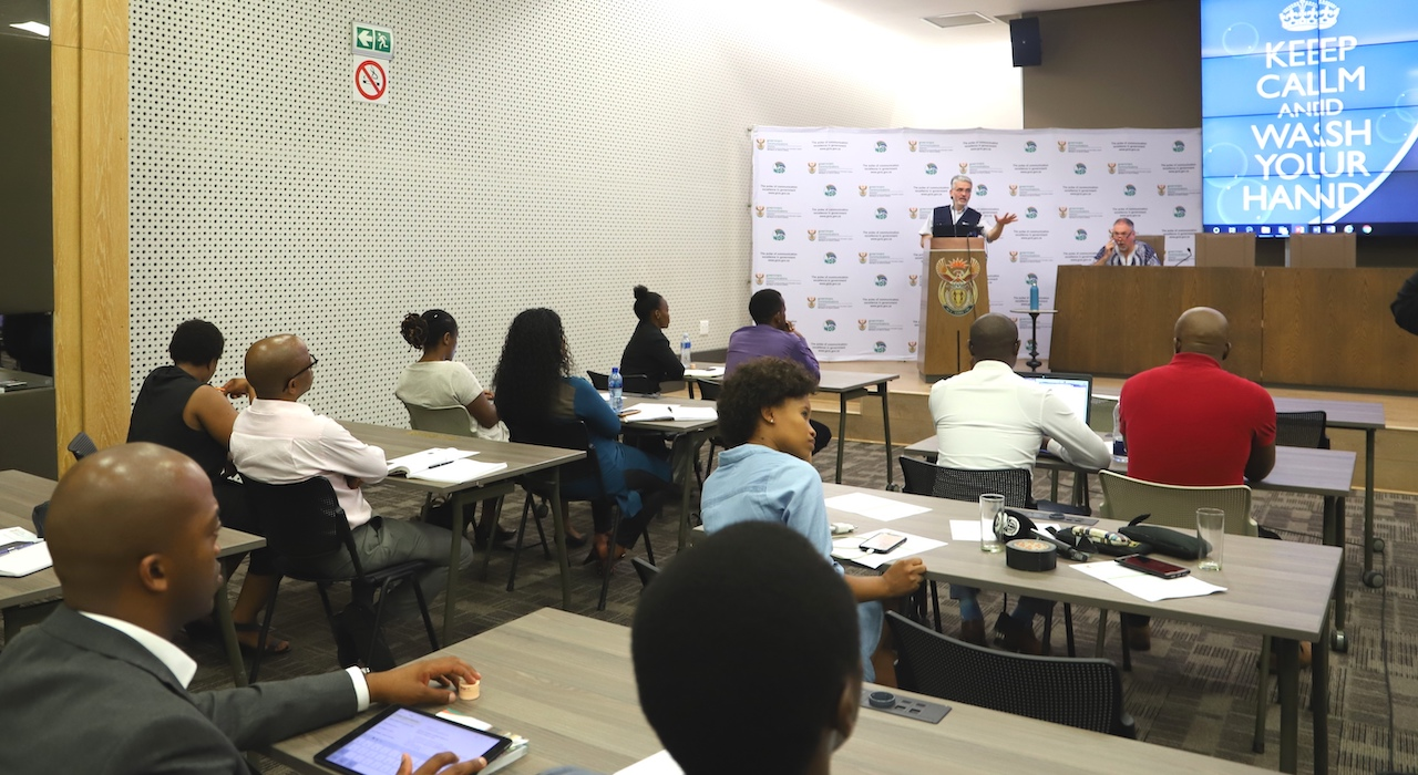 UK-Med's David Anderson in South Africa