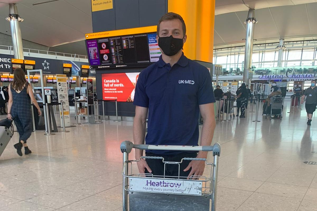 The international team of four includes26-year-oldBritish biomedical engineerRob Shuttfrom Kempston in Bedfordshirewho will fly from Heathrow this evening.